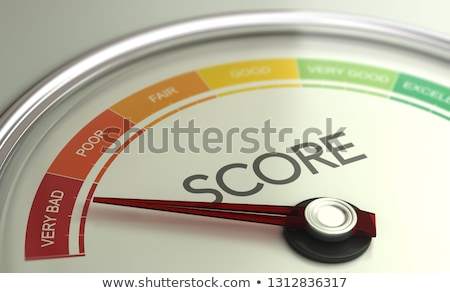 Business Credit Score Gauge Concept, Very Bad Grade. Stock photo © olivier_le_moal
