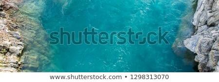 naturelles · mer · turquoise · eau · haut - photo stock © artjazz
