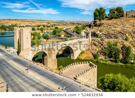 Alcantara Bridge in Toledo Stock photo © benkrut