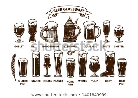 Beer Shaker Pint Stock photo © albund