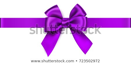 Violet bow stock photo © creatOR76
