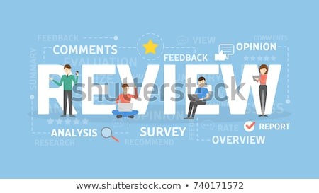 Technical review concept vector illustration Stock photo © RAStudio