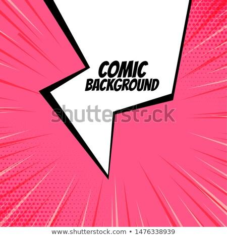 Résumé flash dessinées zoom lignes design Photo stock © SArts
