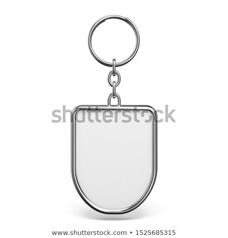 clé · serrure · étiquette · bureau · maison · design - photo stock © djmilic