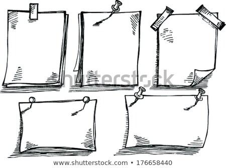 onderwijs · doodle · robots · ontwerp · achtergrond · cartoon - stockfoto © pikepicture