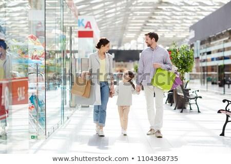 alegre · casal · compras · amoroso · mercearia · juntos - foto stock © pressmaster