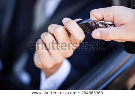 auto · hand · auto · sleutels - stockfoto © -talex-