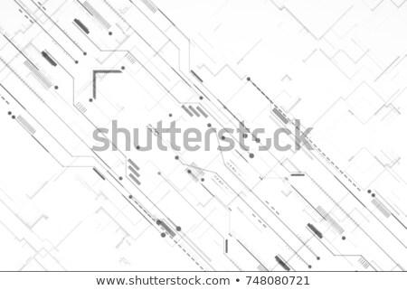 Technológia áramkör vonalak diagram terv absztrakt Stock fotó © SArts