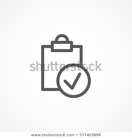 Tested Icon Stock photo © vectomart