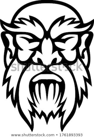 Fej görög Isten elöl kilátás kabala Stock fotó © patrimonio