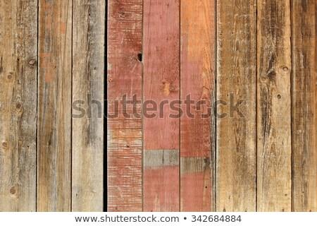 rachado · velho · verde · pintar · madeira · interessante - foto stock © stoonn