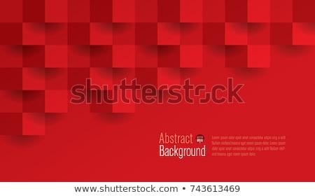 Rood · 3D · abstractie · futuristische · plaat · plaats - stockfoto © FransysMaslo