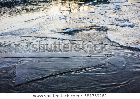 Arctic River Thawing in the Spring Stock photo © gwhitton
