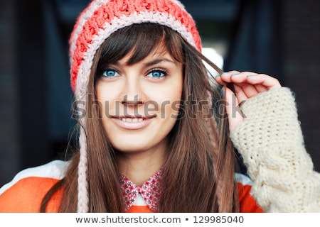 attractive young woman having fun in the sun Stock photo © pdimages