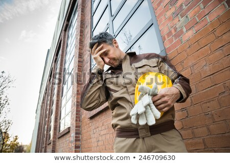 An unhappy foreman. Stock photo © photography33