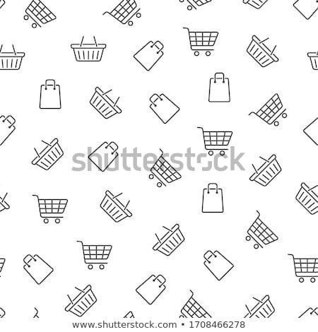 Saco padrão célula brilhante praça simples Foto stock © Galyna