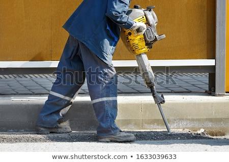 jack hammer work Stock photo © papa1266