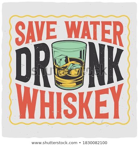 whisky · aislado · blanco · fiesta · vidrio - foto stock © francesco83