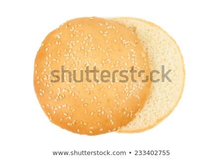 isoliert · Fleisch · Essen · Hintergrund · Abendessen · weißem · Hintergrund - stock foto © M-studio