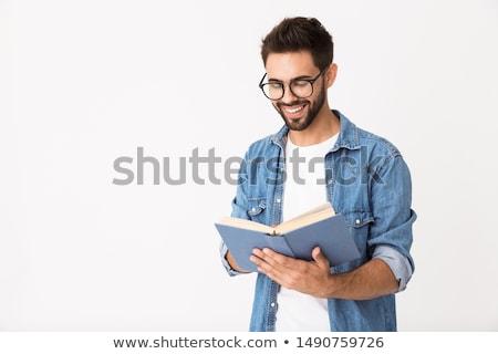 Man with a book Stock photo © stevanovicigor