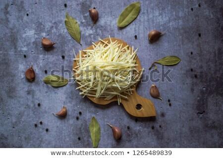 Selderij wortel salade vers dieet gezonde Stockfoto © M-studio
