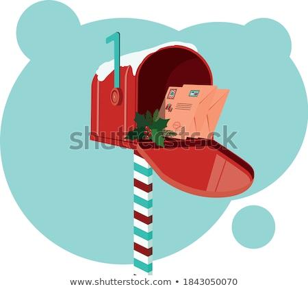Red Mailbox with Mails Stock photo © tashatuvango