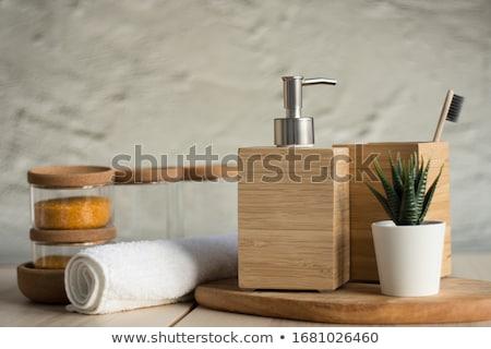 ванную изолированный белый красоту Сток-фото © HectorSnchz