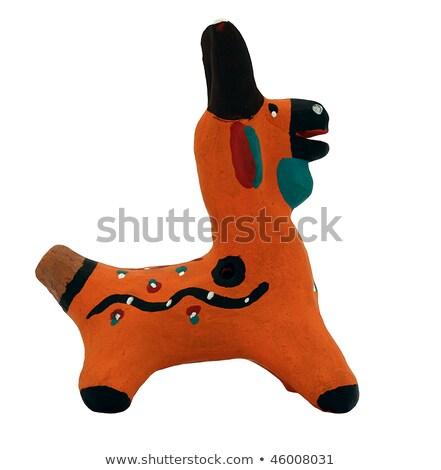 Ancient rural ceramic penny whistle Stock photo © pzaxe