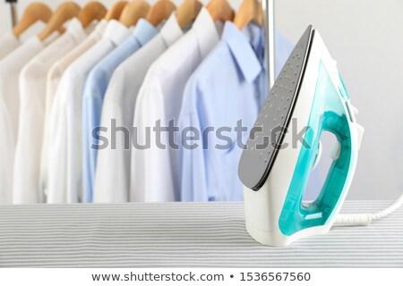 Bordo lavandería blanco casa diseno Foto stock © Sandralise