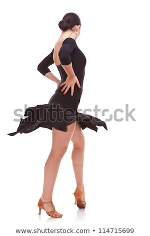 salsa dancer with hands on hips Stock photo © feedough