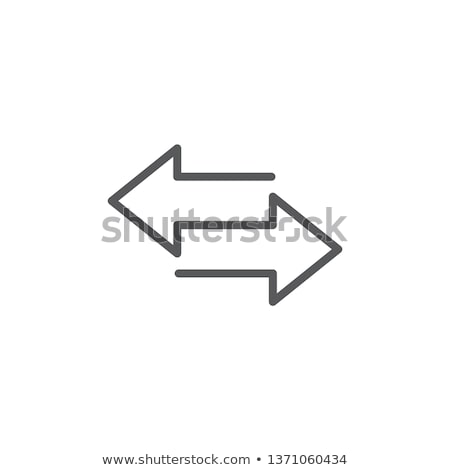 Oppositional arrows Stock photo © timbrk