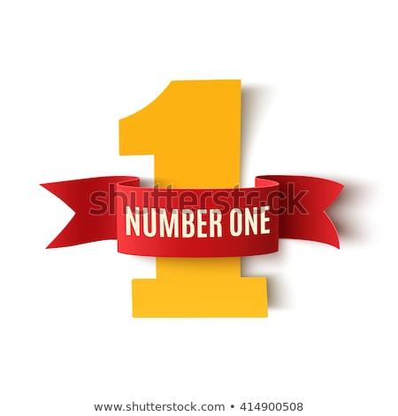 Number One! Stock photo © 3mc