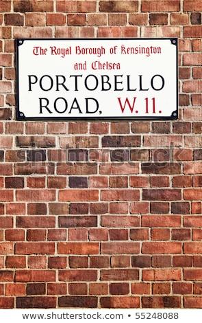 Portobello Road sign Stock photo © Snapshot