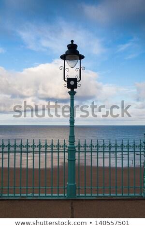 Promenade lege strand oceaan architectuur Stockfoto © CaptureLight