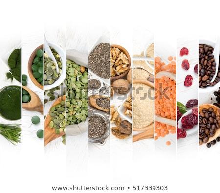 diyet · gıda · sağlık · meyve · sebze · beyaz - stok fotoğraf © lightsource