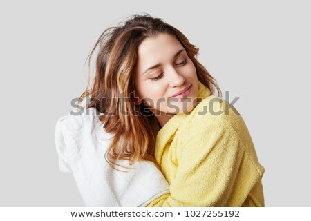 woman taking over spa treatment Stock photo © chesterf