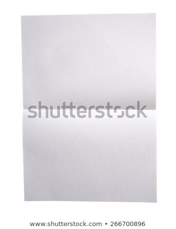 Klasszikus papír izolált fehér űr piros Stock fotó © latent