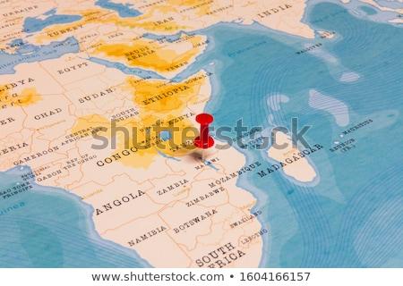 Африка карта Малави лес флаг стране Сток-фото © Ustofre9