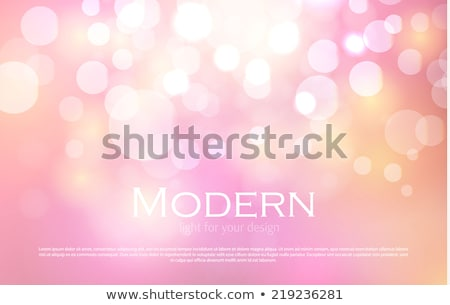 Lights Orange And Pink Background With Bokeh Stock photo © adamson