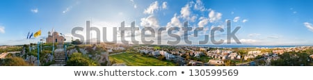 Profitis Elias Church and panoramic view of Protaras Stock photo © Kirill_M