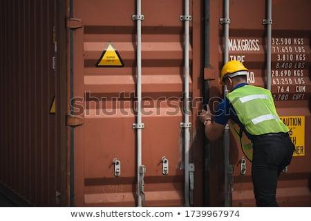 homme · d'affaires · expédition · portrait · adulte · affaires · permanent - photo stock © diego_cervo