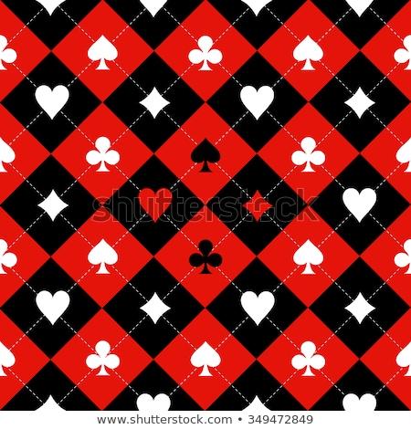 Vintage chess card, vector illustration  Stock photo © carodi