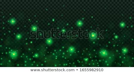 Karácsony illusztráció vidám természet fény üveg Stock fotó © adrenalina