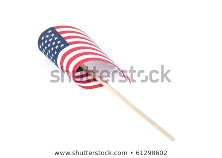 american flag carried at the parade Stock photo © alex_grichenko