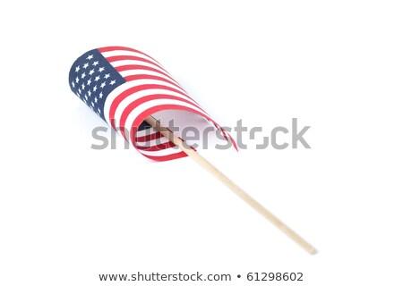bandeira · americana · transportado · abstrato · fundo · onda - foto stock © alex_grichenko