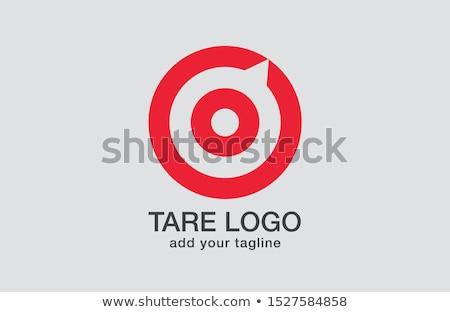 ウェブ マーケティング 赤 ターゲット 3 ストックフォト © tashatuvango