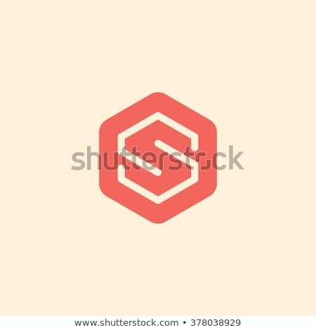 Abstract hexagon s design template - vector illustration Stock photo © sdmix