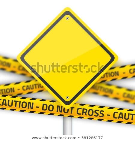 Informazioni sicurezza autostrada cartello cielo strada Foto d'archivio © tashatuvango