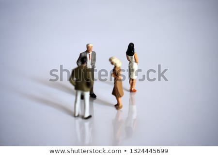 woman tormenting a man on workplace Stock photo © Giulio_Fornasar