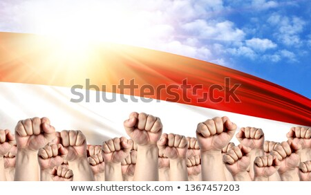 Austria Labour movement, workers union strike Stock photo © stevanovicigor